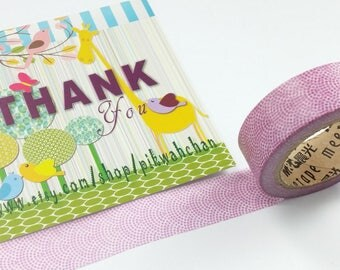Dots Pattern Masking Tape (10M)
