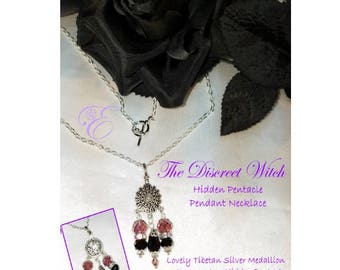 The Discreet Witch - Hidden Pentacle Necklace