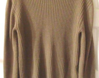 Hand Knit Indigenous Alpaca Sweater, XL