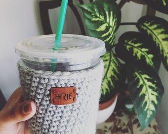 PDF Crochet Pattern - Coffee Sleeve