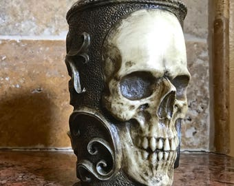 Necromancer Skull Mug