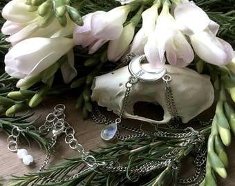 Häxa Witch Goddess Chain Crown
