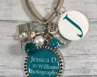 Gifts for Photographer. WEDDING Photographer KEYCHAIN. Thank You Gift from Bride and Groom. Photographer Gift. Special Photographer Gift.