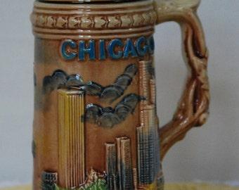 Vintage Chicago Stein