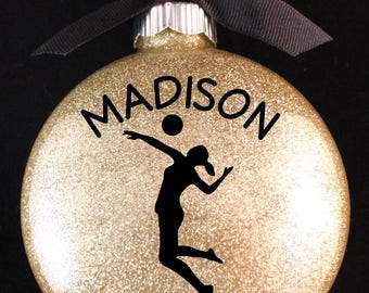 Volleyball Christmas Ornament