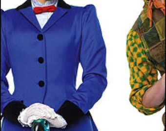 Mary Poppins Nanny Costume for Adults