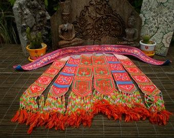 Embroidered Vintage Textile, Textile, Tribal Textile, Vintage Textile, Hmong Vintage Textile, Hmong Textile