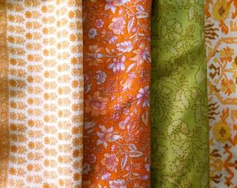 Fat Quarters, Silk Fabric, Sari Silk, FQ 176