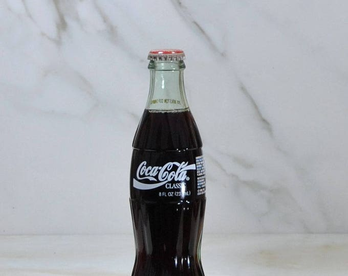 Vintage Jeff Gordon #24 Coke Bottle, 1995, Coca-Cola Company, Nascar, 1995 Winston Cup, Champion, Coca-Cola Classic, Drink Coke, Racing
