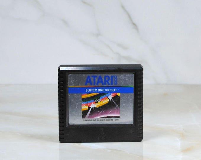 Vintage Atari 5200 Super Breakout 1982, Video Game