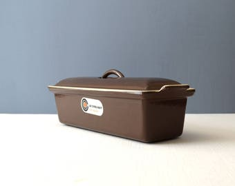 Vintage Le Creuset Cast Iron and Enamel Covered Terrine