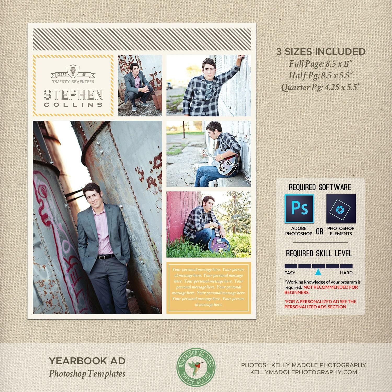 graduation yearbook ad templates senior ad high school. Black Bedroom Furniture Sets. Home Design Ideas