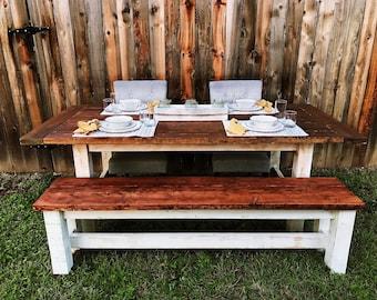 Farmhouse Table | Farmhouse Decor | Dining Table