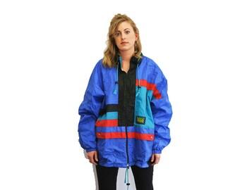 90s sports rain jacket