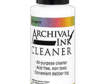 NEW Release-Ranger ARCHIVAL Ink Cleaner 2OZ DABBER-Pre-Order