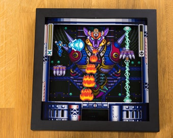Mega Man X (SNES) Shadowbox - Final Boss Sigma