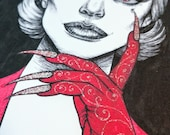 The Countess *Hand-Embellished Print*