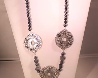 Chinese token Necklace