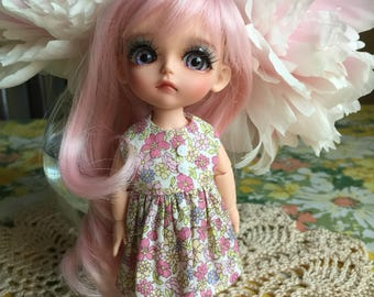 Lati Yellow/Pukifee Cotton Dress