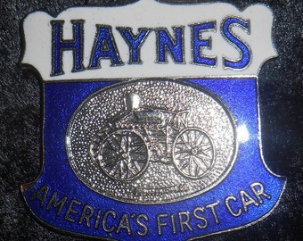 Collectible Watch fob of a Haynes America's First Car