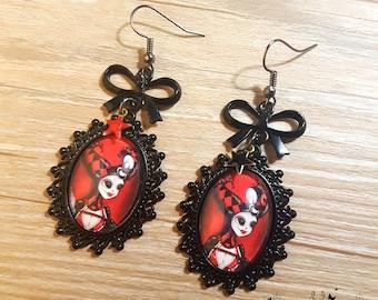 Handmade Sweet Discipline earrings