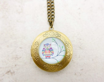 Owl Necklace locket 2020m