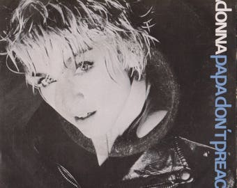 """MADONNA Papa Dont Preach 1986 Portugal Issue Rare 7"""" 45 rpm Vinyl Single Record Synth Pop Electro Dance 80s Music 1590607"""