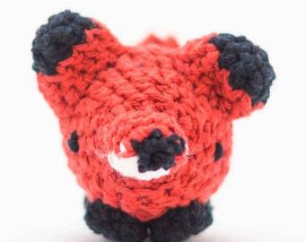Fox Stuffed Animal - Crochet Fox Toy - Amigurumi Fox - Baby Gift - Ornament