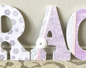 Nursery Decor, Nursery Letters, Wooden Letters for Nursery, kids personalized name signs, Baby Name Sign, Wall Art Baby Names, Kids Name