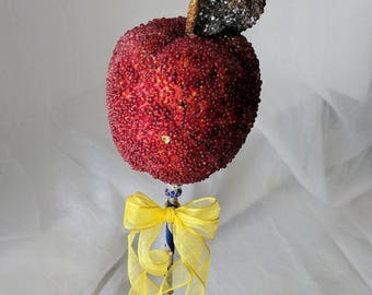 Snow White Evil Queen Beaded Apple Wand Costume Prop