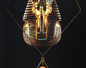 Necklace symbol of Egypt (pyramid)