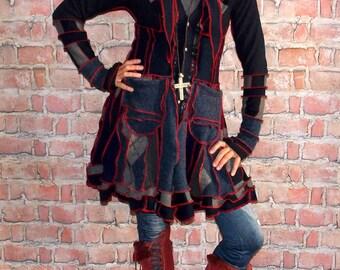 Sweater coat  SC#0717