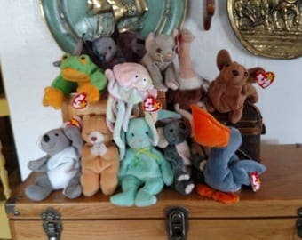 Vintage Beanie Babies From the 1990's