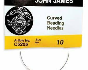 John James No.10 - English Beading Needles ( Pack of 25 neddles )