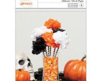 halloween party halloween pom pom flowers kit halloween tissue paper flowers halloween tissue