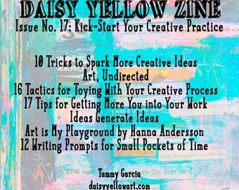 Zine #17 Daisy Yellow Kick-Start