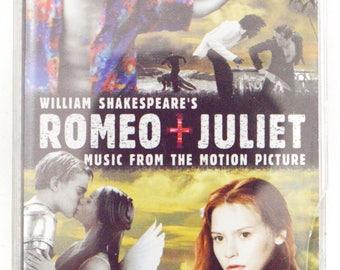 Vintage 90s Romeo + Juliet Motion Picture Soundtrack Album Cassette Tape