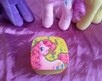 Pinkie Pie Hand-Painted Box