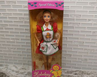1997 Special Edition Holiday Treats Barbie, 1997 Holiday Treats, Special Holiday Edition, Mattel 17236