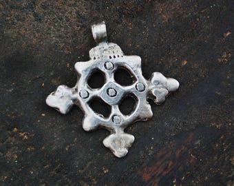 Antique Ethiopian Coptic Cross Amulet