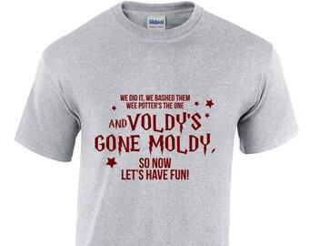Harry Potter Shirt - Voldy's Gone Moldy