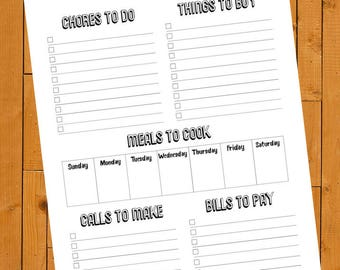 The Get Busy List (Printable To-Do List)