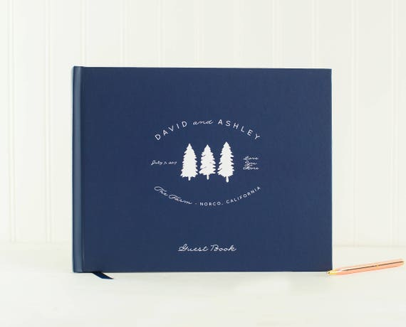 Guest House Guest Book Wedding Guest Book Cabin Guestbook photo booth book Housewarming Gift Vacation House book Memory Book Sign in book