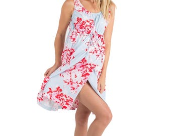 Mae Floral Maternity - Labor & Delivery- Nursing Gown 3 in 1 Baby Be Mine Birthing Hospital Gown, Hospital Bag Must Have