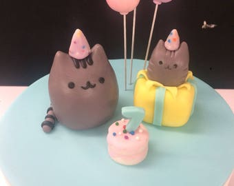Pusheen Cake Toppers