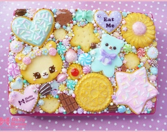 Multifunctional Kawaii Cookies Business or Credit Card Holder Case by Dolly House
