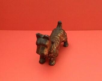Vintage Scottish Terrier Dog Figurine