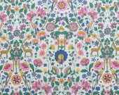 NEW 2018 Classic print, Liberty Tana Lawn Palmeira A - 9x26'' fat eighth - pink,green,yellow