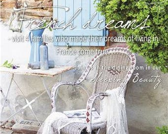 Jeanne d' Arc Living Magazine 5th Issue May 2017 French Dreams ~ French Style