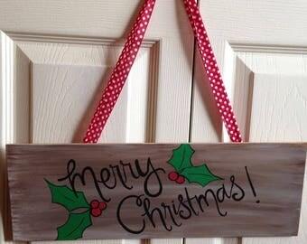 Christmas hanger